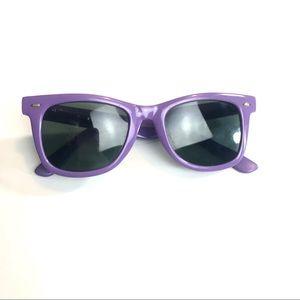 Vintage 80s Foster Grant Purple Sunglasses